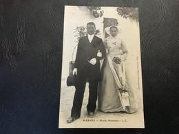 MARANS Mariés Marandais - 1909 Timbrée - Otros Municipios