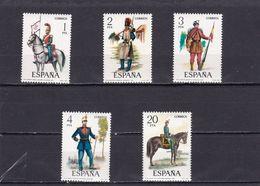 España Nº 2381 Al 2385 - 1971-80 Nuovi