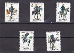 España Nº 2423 Al 2427 - 1971-80 Nuovi