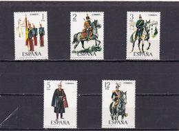 España Nº 2451 Al 2455 - 1971-80 Nuovi