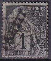 TAHITI - 1 C. De 1893 Oblitéré FAUX - Used Stamps