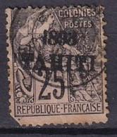 TAHITI - 25 C. De 1893 Oblitéré FAUX - Used Stamps