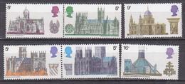 P2134 - GRANDE BRETAGNE Yv N°563/68 ** ARCHITECTURE - Unused Stamps