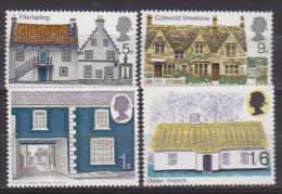 P2136 - GRANDE BRETAGNE Yv N°582/85 ** ARCHITECTURE - Unused Stamps