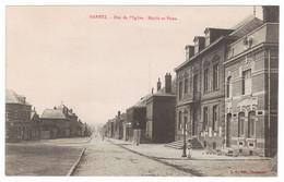 59 - MARETZ - Rue De L'Eglise - Mairie Et Poste - Altri Comuni