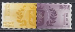 Nederland 2021 Nvph Nr ??, Mi Nr ??, Dag Van De Postzegel, Blok Van 2 - Unused Stamps