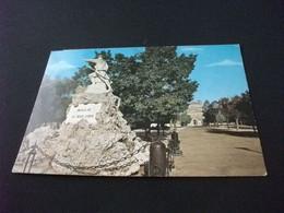 MONUMENTO AI CADUTI WAR MEMORIAL MAGLIE AI SUOI EROI STORIA POSTALE FRANCOBOLLO ITALIA - Oorlogsmonumenten