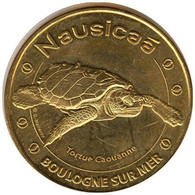 62-1628 - JETON TOURISTIQUE MDP - Nausicaa - Tortue Caouanne - 2014.3 - 2014