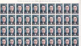 España Nº 2027 Al 2030 En Pliegos De 80 Series - 1971-80 Nuovi