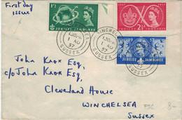Winchelsea Sussex 1.8.1957 - Jubilee Jamboree - Covers & Documents