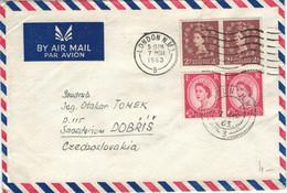 London 1963 - N.W.I. - Covers & Documents