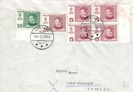 Nuuk (Kap) Godthåb (Gute Hoffnung) Nûk 1983 > Schweden - Briefe U. Dokumente