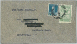 77097 - ARGENTINA - POSTAL HISTORY -  COVER To GB - ZEPPELIN Flight  1932 - Covers & Documents