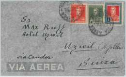 77096 - ARGENTINA - POSTAL HISTORY -  COVER To GERMANY - ZEPPELIN Flight  1934 - Covers & Documents