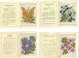 BS73 - COMPLETE SILK SET - 60 CARDS -  KENSITAS CIGARETTES - FLOWERS - Autres