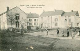 SAINT LEGER - Place Du Verdau (état) - Saint-Leger
