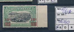 BELGIAN CONGO 1921 ISSUE COB 86A MNH SANS CHARNIERE6 - 1894-1923 Mols: Ungebraucht