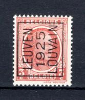 PRE119A MNH** 1925 - LEUVEN 1925 LOUVAIN - Tipo 1922-31 (Houyoux)