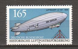 Germany Bund 1991 Mi 1525 MNH ZEPPELIN - Zeppelin