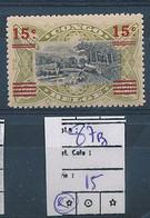 BELGIAN CONGO 1921 ISSUE COB 87B MNH SANS  CHARNIERE - 1894-1923 Mols: Neufs