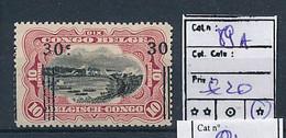 BELGIAN CONGO 1921 ISSUE COB 89A LH CHARNIERE - 1894-1923 Mols: Ungebraucht
