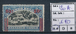 BELGIAN CONGO 1921 ISSUE COB 90A MNH SANS CHARNIERE - 1894-1923 Mols: Ungebraucht
