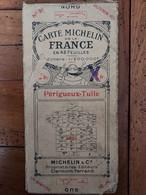 CARTE MICHELIN PERIGUEUX TULLE   N°31 AU 1/200 000e - Carte Stradali