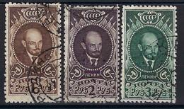 ⭐ Russie - YT N° 354 à 356 - Oblitéré - 1926 ⭐ - Used Stamps