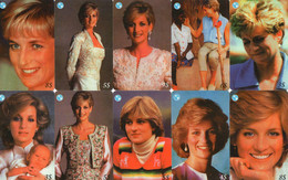 UNITED STATES - PREPAID - THEMATIC LADY DIANA - 19 CARDS - Other