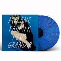 Mylene Farmer Album Double 33Tours Vinyles Plus Grandir Exclusivité Vinyle Couleur Bleu Marbré - Non Classificati