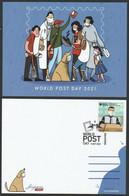 2021 NEW *** Singapore Covid-19 Series II - A Tribute To Frontline Heroes Postcard MNH Doctor Coronavirus (**) - Singapur (1959-...)