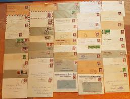 Algérie - Surchargés EA - Lot De 50 Plis - DEPART 1 EURO - Covers & Documents