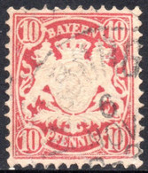 1881 - YT 50 OBLITERE SANS DEFAUT  - - Bayern (Baviera)