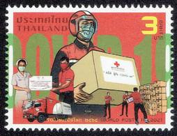 Thailand 2021, World Post Day - Tailandia