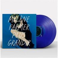 Mylene Farmer Album Double 33Tours Vinyles Plus Grandir Vinyle Couleur Bleu - Non Classificati