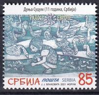 SERBIA 2021, JOY OF EUROPE,CHLIDREN PICTURE,,MNH - Serbia