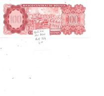 BOLIVIE BILLET 100 PESOS PICK 164 - Bolivia