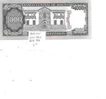 BOLIVIE BILLET 1000 PESOS PICK 167 - Bolivia