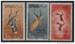 Somalia (AFIS)- 1958-1959 Antelope-Antilopes-Antilopen-Antilopi  ** - Somalia (AFIS)