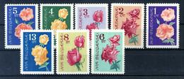 1962 BULGARIA SET MNH ** - Rose