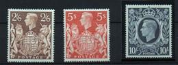 Gran Bretaña Nº 224/6. Año 1939 - Unused Stamps