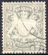 1888 - YT 58 - OBLITERE  - COTE 0.60 € - Bayern (Baviera)
