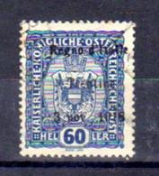 Trentin 1918, Tp Autriche Surchargé, 12 Ob, Cote 100 €, - Trentino