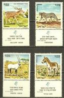 ISRAEL 1971 FAUNA Animals CHEETAH DEER ORYX - Fine Set MNH - Ungebraucht (mit Tabs)