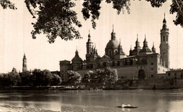 ESPAGNE ZARAGOZA TEMPLO DEL PILAR Y RIO EBRO - Zaragoza
