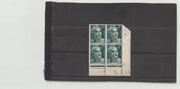 N° 713 - 2F Marianne De GANDON -  C De C+D - 1° Tirage Du12.2.45 Au 9.3.45 - 14.02.1945 - ( Ex N° 2) - 1940-1949