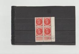 N°506 - 30c PETAIN/PROST - Planche A+A - Tirage Du 3.10.41 Au 30.10.41 - 28.10.1941 - - 1940-1949