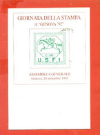 G1 .-GENOVA - FILATELIA- ESPOSIZIONE FILATELICO NUMISMATICA-MARCOFILIA- - Manifestazioni