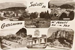 Cartolina - Saluti Da Castelnovo - Ne' Monti - Vedute Diverse - 1966 - Reggio Emilia