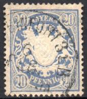 1888 - YT 64 OBLITERE COTE 0.20 € - Bayern (Baviera)